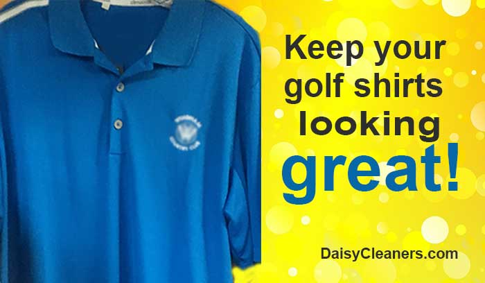 clean golf shirts