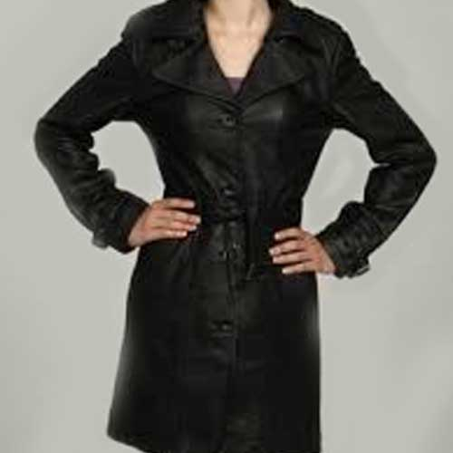 Leather coats are easily cleaned at Daisy Cleaners