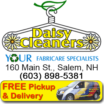 Daisy Cleaners, Salem, NH