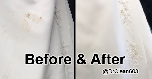 Precious Wedding Dress Restored
