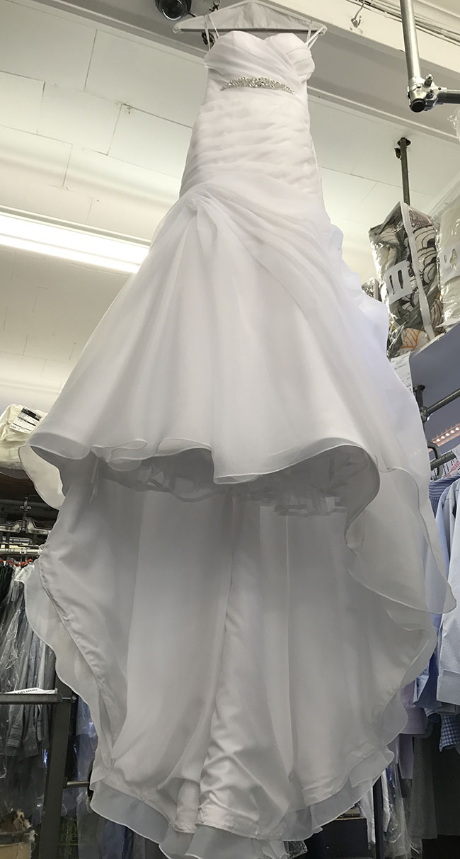 Beautiful Bridal Gown Saved