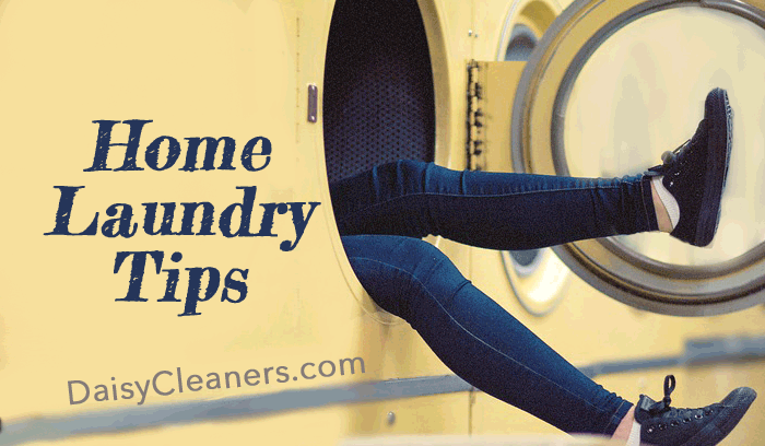 home laundry tips from Daisy Cleaners