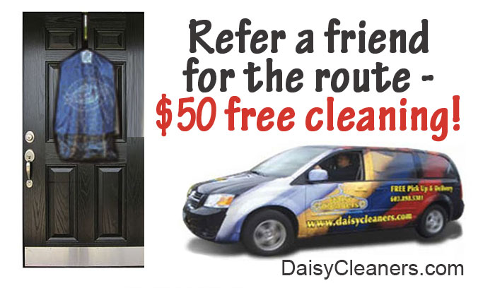 Refer a friend to the route