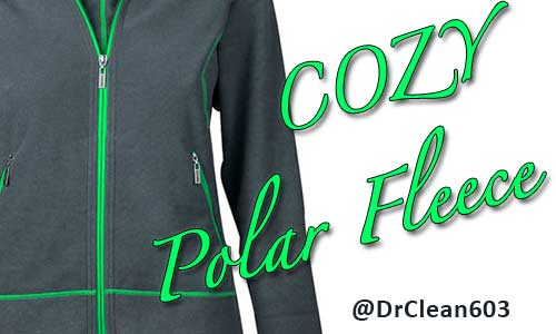 keep polar fleece looking great