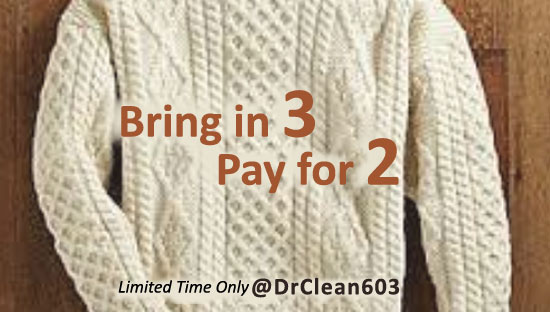sweater cleaning sale